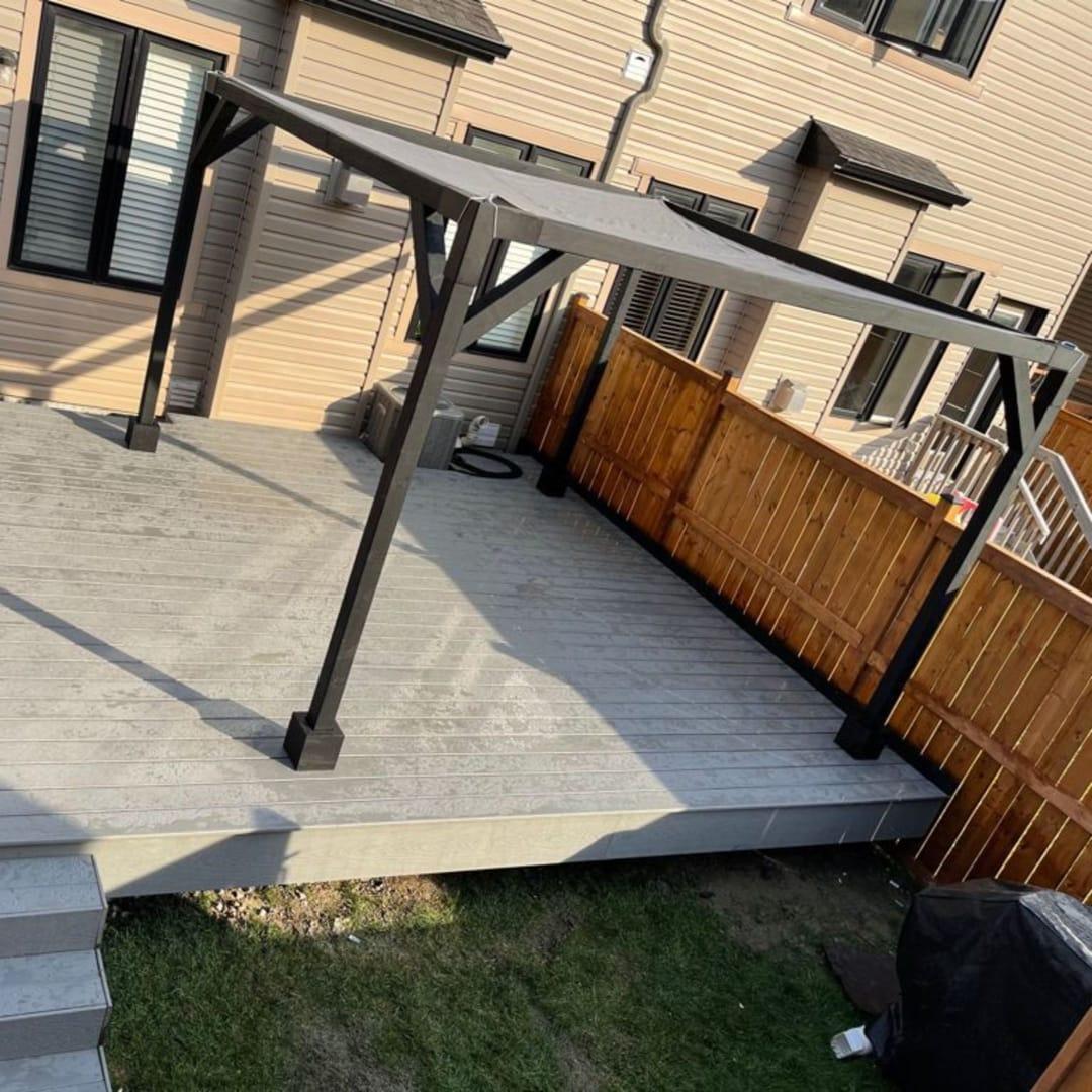 ottawa pergola deck builder
